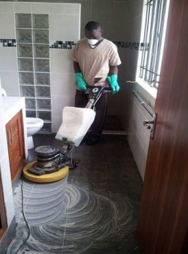 Spin Africa Cleaning COVID-19 Response Team and Machines and tools for use 26